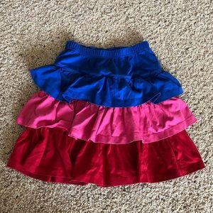 Hanna Anderson girls multi-colored skirt